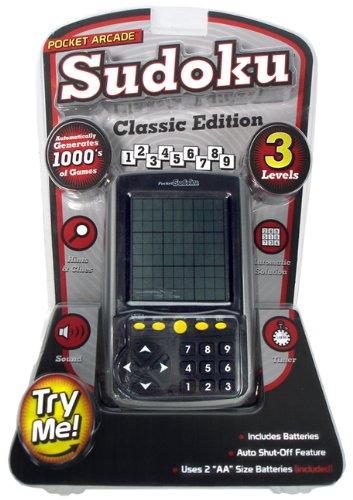 Pocket Arcade Sudoku Classic (Electronic Sudoku Puzzle)