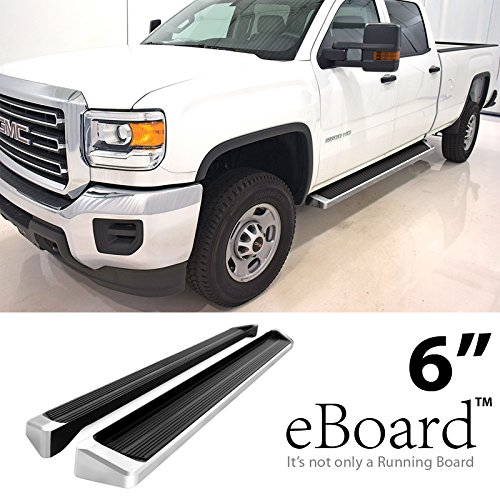 running boards for chevy silverado 1500 2014 2017 4. Black Bedroom Furniture Sets. Home Design Ideas