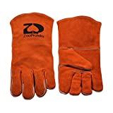 ZaoProteks ZP1701 Cowhide Leather Heat Resistant Welding Gloves ,Work Gloves - Large