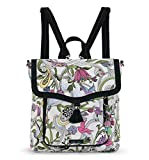 Sakroots Colette Convertible Backpack, White Peace Dove