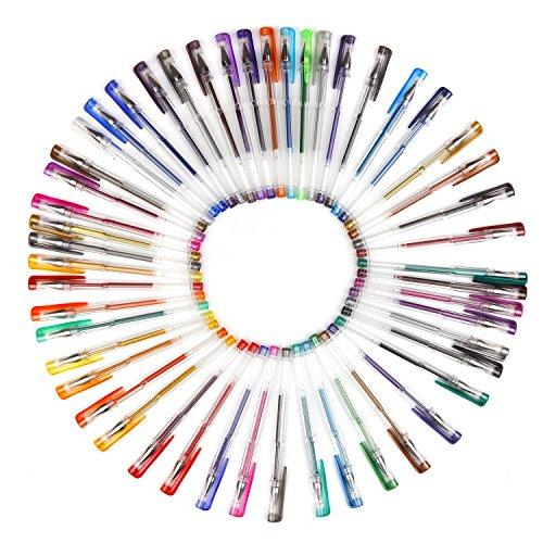 Bear Motion 100 Pieces Set Assorted Color Gel Pen