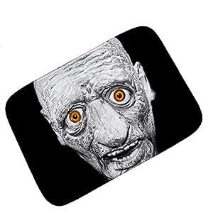 smdoxi Halloween felpudos antideslizante sangre diablo cocina alfombra de baño salón alfombra 40x 60cm