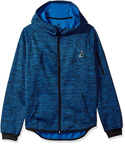 Akademiks Mens Big and Tall Long Sleeve Zip-up Hoodie Sweatshirt