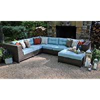7 Piece Sectional with Cushions