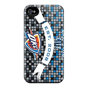 Scratch Resistant Hard Phone Case For Iphone 6 With Allow Personal Design Stylish Oklahoma City Thunder Pictures CharlesPoirier