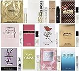 Perfumes Best Deals - 12 Perfume Sample Vial Set of Women's Designer Fragrances