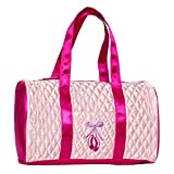 Horizon Dance 1002 Pretty In Pink Quilted Ballet Bag For Girls