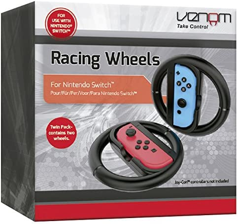 Venom - Set de 2 Volantes Switch Racing Wheels Venom (Nintendo ...