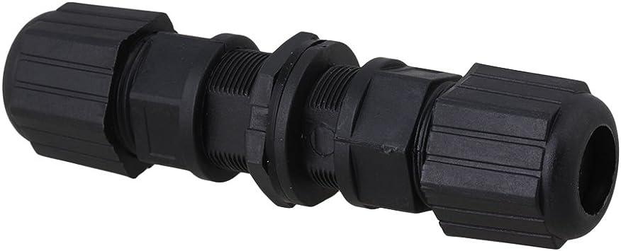 0-24V DC M20 Ethernet IP67 AP Wasserdichte Steckverbinder für Doppelkabel
