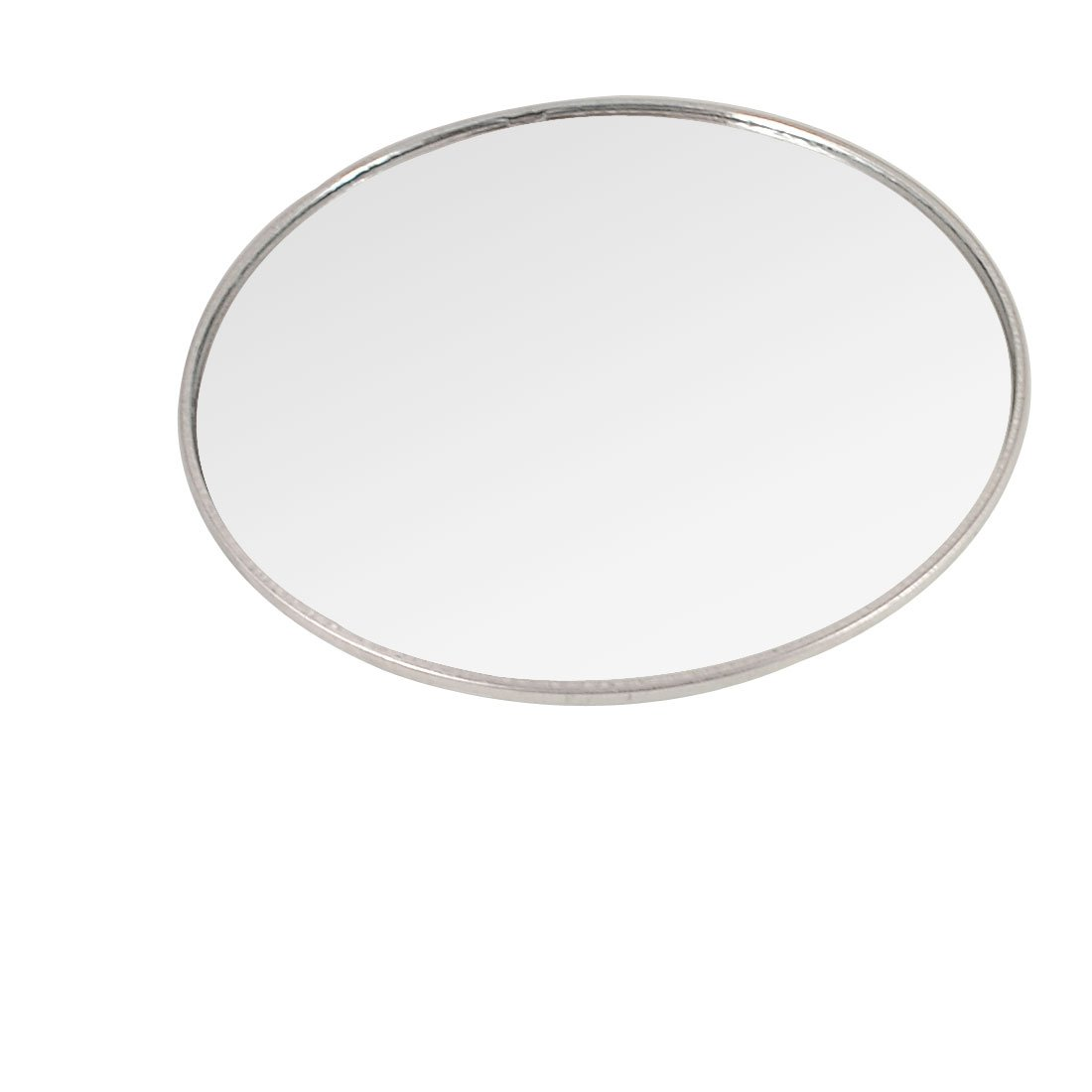 uxcell Car 95mm Convex Round Side Rearview Blind Spot Mirror Silver Tone