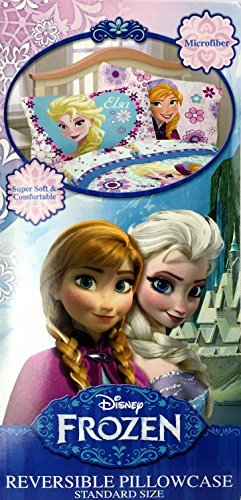 Disney Frozen Warm Heart Reversible Pillowcase - Standard Size by Disney