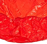 Kwik-Cover 2496-R 24'' X 96'' Kwik-Cover- Red Fitted Table Cover (1 full case of 100)