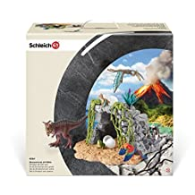 Schleich Dinosaur Set with Cave Educational Toy by Schleich
