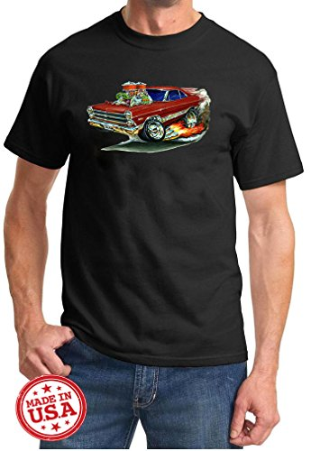 Maddmax Car Art 1966 1967 Ford Fairlane Hardtop Cartoon for sale  Delivered anywhere in Canada