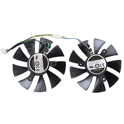 For MSI 450 For Colorful GT730 GT740 For Zotac GTX1070 ZT-P10700G-10M MINI GFY09010E12SPA DC12V PC Graphics Card Cooling Fan by Z.N.Z