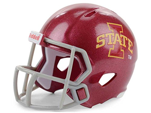 Riddell NCAA Iowa State Cyclones Helmet Pocket ProHelmet Pocket Pro Speed Style, Team Colors, One Size (Iowa State Pocket)
