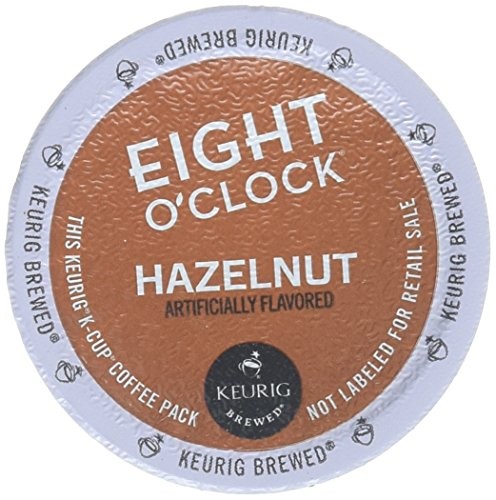 Eight O'Clock Hazelnut Coffee Keurig K-Cups, 18 -
