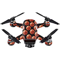 Skin For DJI Spark Mini Drone – Basketball | MightySkins Protective, Durable, and Unique Vinyl Decal wrap cover | Easy To Apply, Remove, and Change Styles | Made in the USA