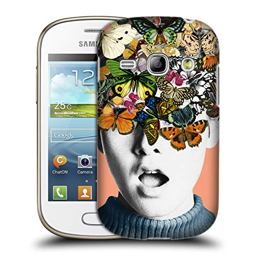 Fame Portrait - Official Desiree Feldmann Twiggy Surprise Floral Portraits Hard Back Case for Samsung Galaxy Fame S6810