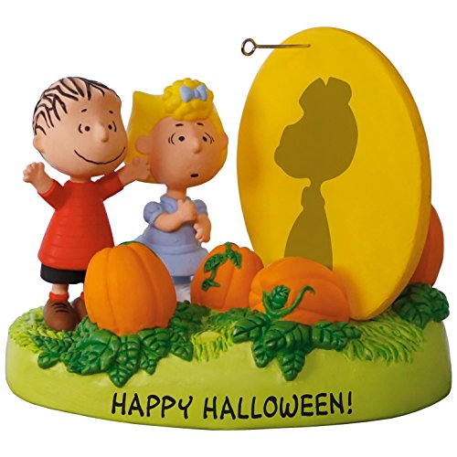 Hallmark PEANUTS The Great Pumpkin Rises Sound Ornament With Light]()
