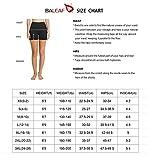 "BALEAF Women's 8"" /5"" /2"" High Waist Workout Yoga"