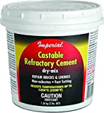 Imperial Manufacturing KK0062 Castable Refractory Cement, Dry mix...