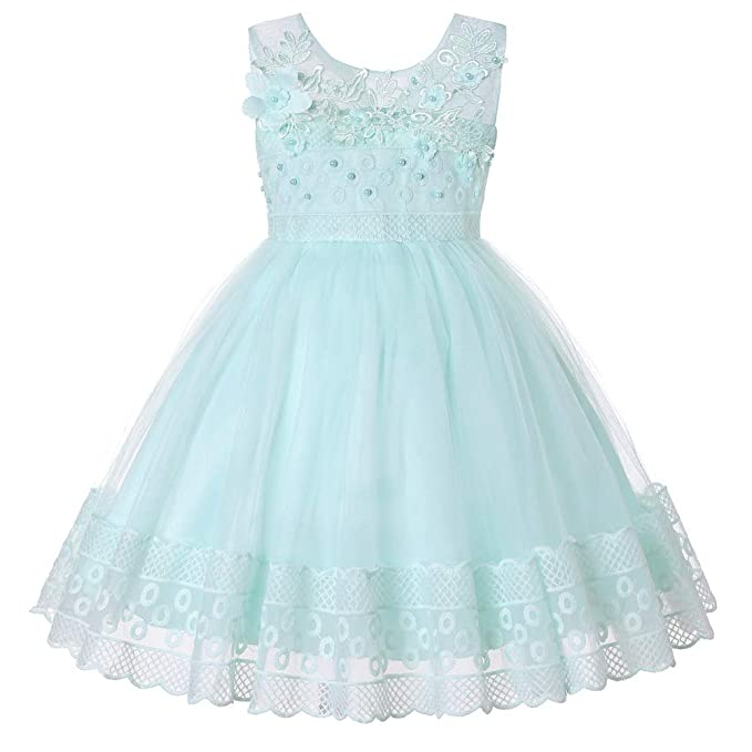 Amazon.com: Weixinbuy Vestido de bautizo, bautizo, bautizo ...