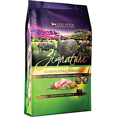 Zignature Guinea Fowl Dry Dog Food, 13.5 lb. Bag. A Protein Rich Dog Food. Fast Delivery by Just Jak's Pet Market