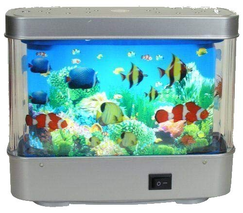 (Lightahead Artificial Tropical Fish Aquarium Decorative Lamp Virtual Ocean in Motion (Small))