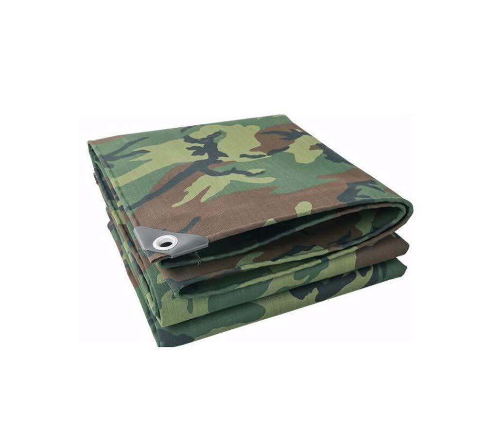 GTREW-tarpaulin Outdoor Camouflage Canvas Militärische Regenplanen- Schatten Sonnenschutz Zelt Cloth Wasserdicht Schuppen Stoffdickerei, B07NLTV55M Zeltplanen Sehr gute Klassifizierung