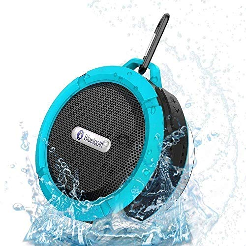Shower Speaker, Wireless Bluetooth Speaker, Wireless Waterproof Speaker with Loud Stereo Sound,Rich Bass,Perfect Outdoor Travel Portable Wireless Speaker for iPhone,Samsung and More]()