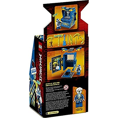 LEGO NINJAGO Jay Avatar - Arcade Pod 71715 Mini Arcade Machine Building Kit, New 2020 (47 Pieces): Toys & Games