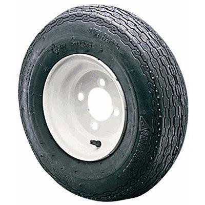 - 5-Hole High Speed Standard Rim Design Trailer Tire Assembly - ()