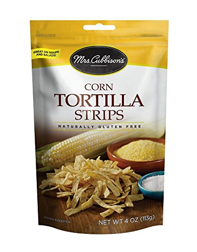 - Mrs. Cubbison's Tortilla Strips, Corn, 4 Ounce (Pack of 9)