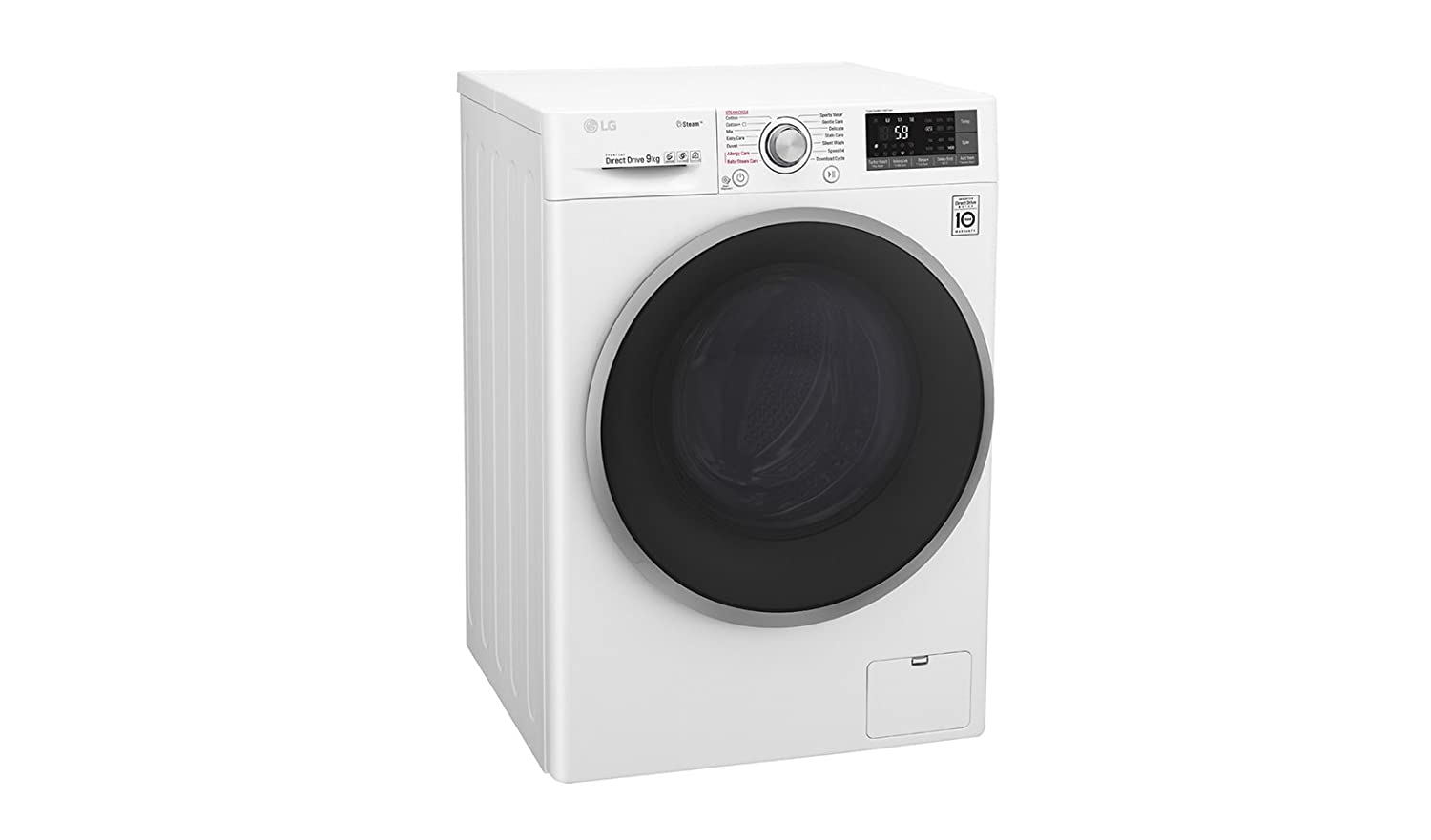 LG F2J7VY1W Independiente Carga frontal 9kg 1200RPM A+++ Blanco ...