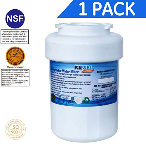 Price comparison product image IcePure RFC0600A Water Filter Replacement Cartridge for GE, Kenmore, Hotpoint
