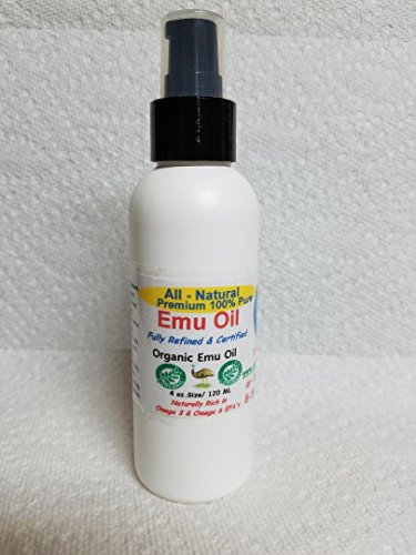 Emu Oil 100% Pure Premium Certified Emu Oil