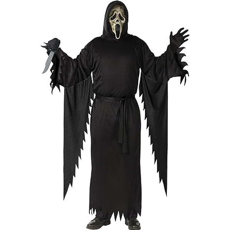 il migliore comprare bene qualità autentica Costume Carnevale Halloween Spettro Fantasma Ghostface ...