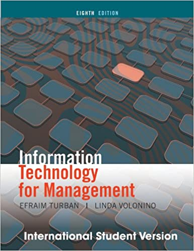 9780470287484: information technology for management: improving.