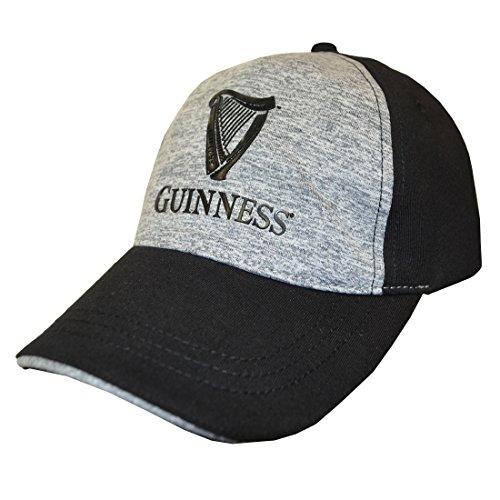 Guinness Baseball (Guinness Black Harp Logo Grey Performance Baseball Cap)
