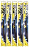 """Rain-X 5079280-2-5PK Latitude Wiper Blade, 24"""" (Pack of 5)"""