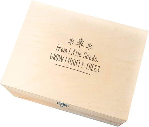Handmade Wooden Baby Boy Keepsake Memory Box Christening Gift Ideas For Babies