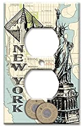 Art Plates - New York Switch Plate - Outlet Cover
