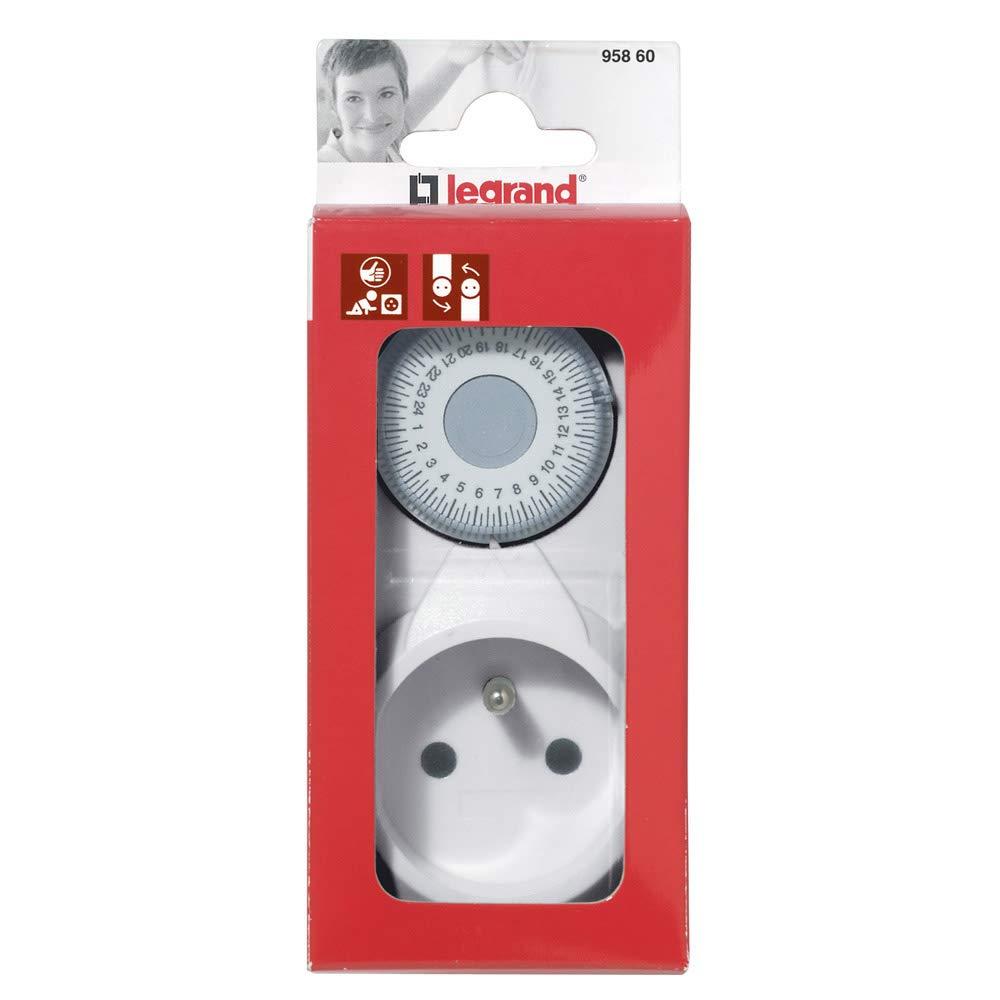 Legrand LEG95860 - Enchufe con programador: Amazon.es: Bricolaje y herramientas