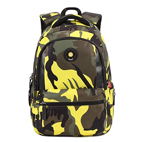 LiLi Meng Children Fashion Camouflage Casual Backpack Outdoor Luggage Bag School -