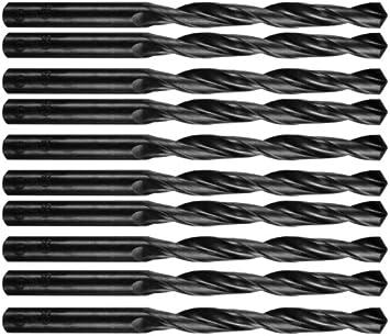 abriebfest 10 Stück 0,5 0,9 mm HSS Cobalt Spiralbohrer scharf