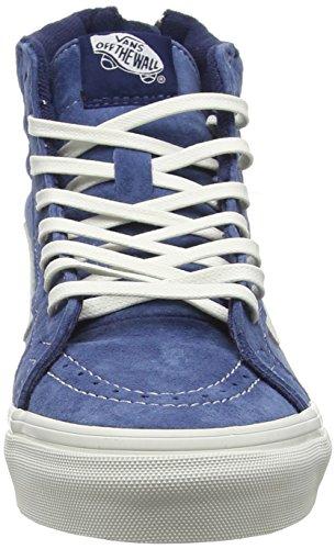 de Azul Zip Blanc Sk8 Unisex Adulto Obsidian Zapatillas Blanc Slim Vans hi Scotchgard qf0APnw