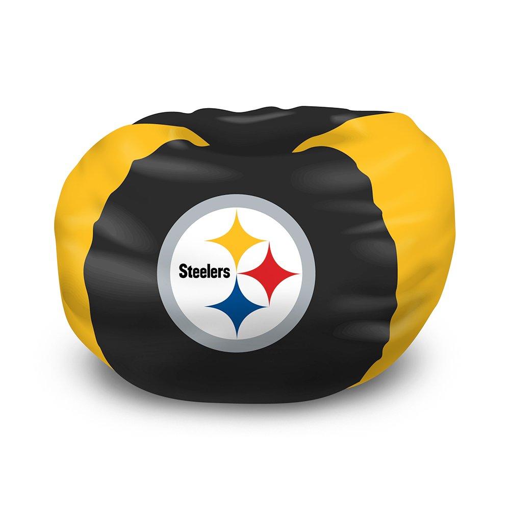Steelers Bedroom Amazoncom Northwest Pittsburgh Steelers Bean Bag Chair