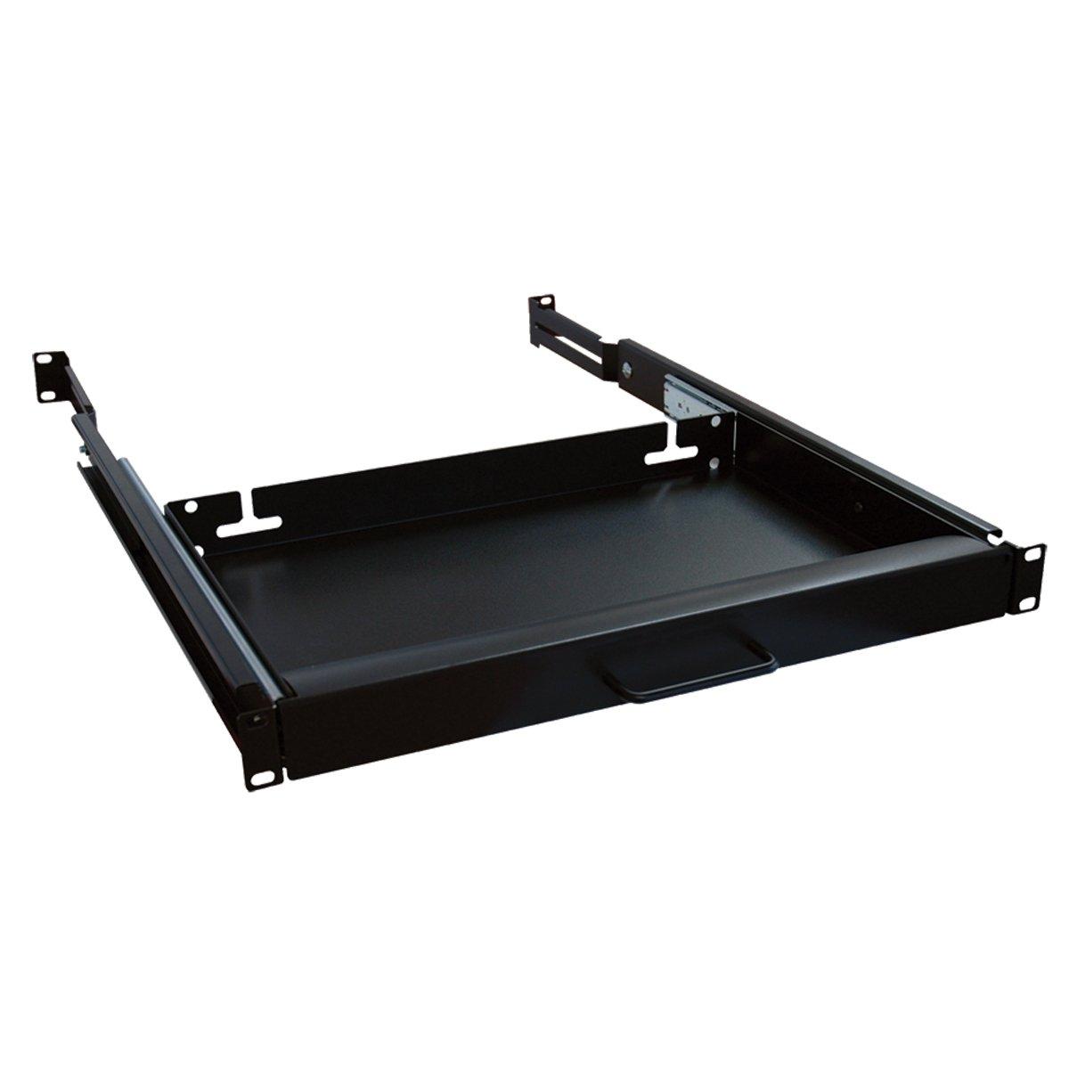 Tripp Lite Rack Enclosure Server Cabinet Keyboard Shelf 25lb Capacity SRSHELF4PKYBD
