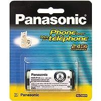 Batería recargable Ni-MH de 2,4 V de Panasonic para teléfonos inalámbricos (HHR-P105A)